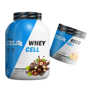 WHEY CELL + BCAA + GLUAMINE RECO CELL