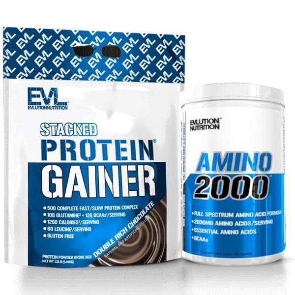 stacked protein gainer tunisie amino 2000 tunisia
