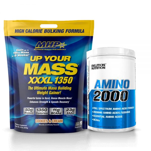 up your mass + amino tunisie